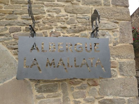 Enseigne La Mallata
