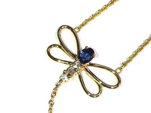 Manjo Bracelet Or Diamant Saphir