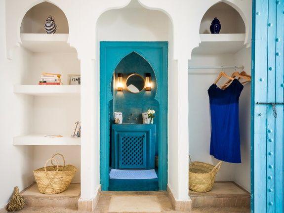accès alle d'eau riad chamali medina marrakech maroc