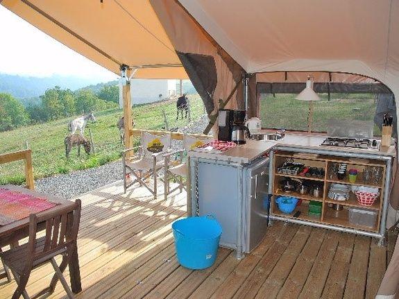 camping Le Clapas lodgetent