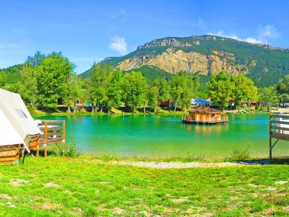 zenzilot camping vercors drome piscine chauffée lac