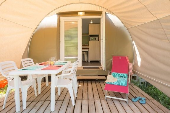 coco camping Hautes-Alpes familial piscine escalade