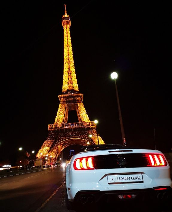 Mustang tour Eifel