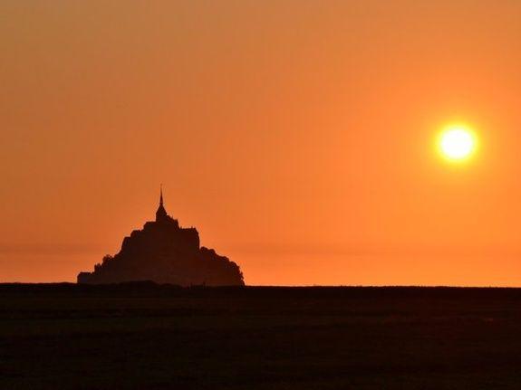Mont Saint Michel traversée de nuit